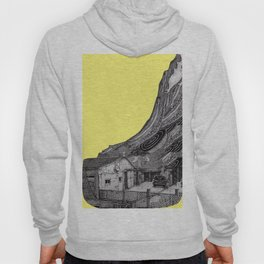 yellow house Hoody