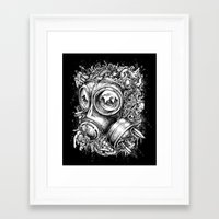 chaos Framed Art Prints featuring Chaos by toto6