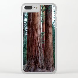 The Word For World Is Forest Clear iPhone Case