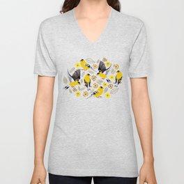 Goldfinches Unisex V-Neck
