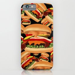 All the Burgers you need iPhone Case