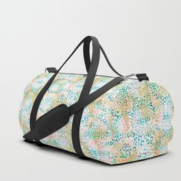 Snow Leopard Animal Print Duffle Bag