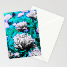 Pop paeony Stationery Cards