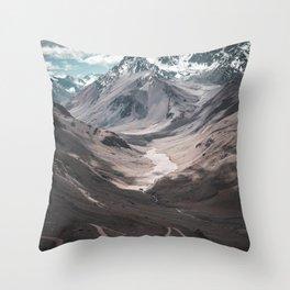 Las Cuevas Throw Pillow