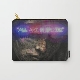 All Art is Erotic Carry-All Pouch