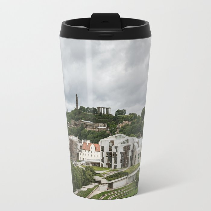 Old and New Edinburgh Travel Mug