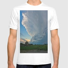 Calm Before The Storm Mens Fitted Tee White MEDIUM