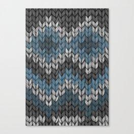 knit3 Canvas Print