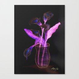 Physodelic Calla Lilies Canvas Print