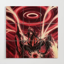 end of the world(evangelion) Wood Wall Art