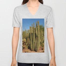Organpipe Cactus Unisex V-Neck