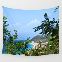 The Sea and Mountains Wall Tapestry