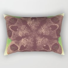 Skull Mandala Test No.1 Rectangular Pillow
