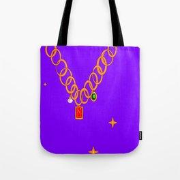 Necklace, bling, precious gems Tote Bag