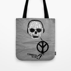 Love' skull -  a collaboration between Sam Guilhen and Gwenola de Muralt - Tote Bag