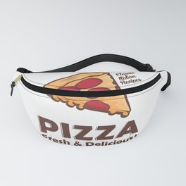 Pizza Vintage Signage Poster Rustic Fanny Pack