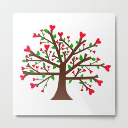 Tree of Love, Tree of Life Metal Print