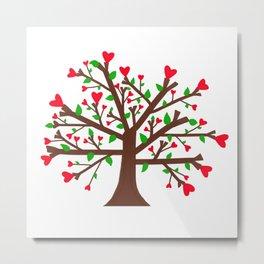 Tree of Love, Tree of Life Metal Print