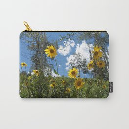 Flowers on the Mountainside Carry-All Pouch