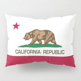 California Republic Flag, High Quality Image Pillow Sham