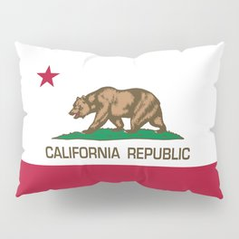 California Republic Flag, High Quality Image Pillow Sham