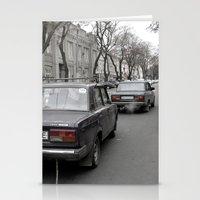 ukraine Stationery Cards featuring Odessa Ukraine by Sanchez Grande