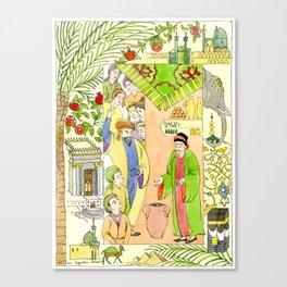 Arabian Nights-Ali Cogia Canvas Print
