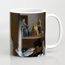 """Diego Velázquez """"Christ in the house of Marthe and Marry"""" Coffee Mug"""
