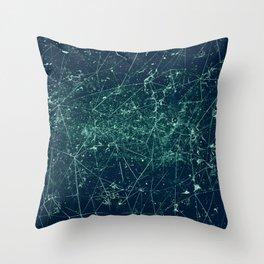 Interstellar Overdrive Throw Pillow