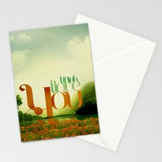 I Think I Love You Stationery Cards
