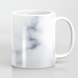Marble White & Blue Coffee Mug