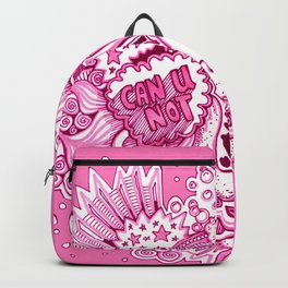 Pink Attitude Backpack
