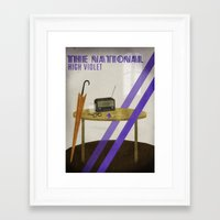 the national Framed Art Prints featuring The National by Seana Seeto