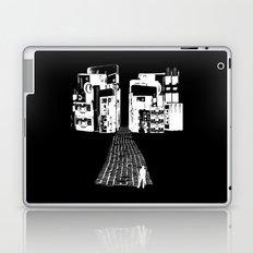 Dead Sound City (White on Black) Laptop & iPad Skin