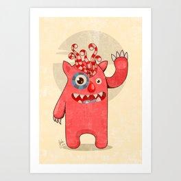 Monster-01 Art Print