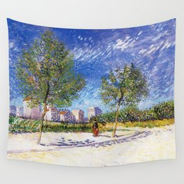The Outskirts of Paris Wall Tapestry