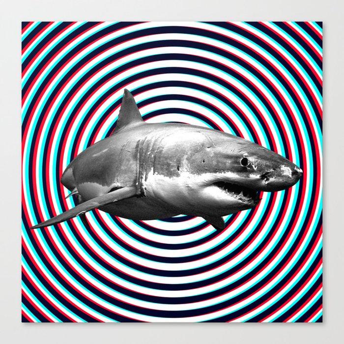 Shark Leinwanddruck