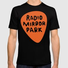 Radio Mirror Park Black 2X-LARGE Mens Fitted Tee