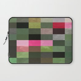 Pink Roses in Anzures 5  Abstract Rectangles 3 Laptop Sleeve