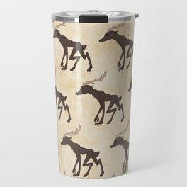 Wendigo Pattern Travel Mug