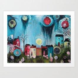 Home Love Belong Art Print