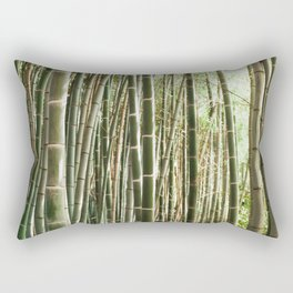 In The Bamboo Forest Rectangular Pillow