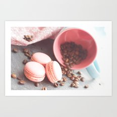 Sweet candycolors cake Art Print