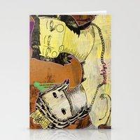 brooklyn Stationery Cards featuring Brooklyn by M a t i l d a    S t o n e