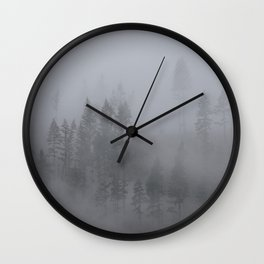Olympic Fog Wall Clock
