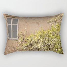 Worn Wall in Old Town #decor #society6 #buyart Rectangular Pillow