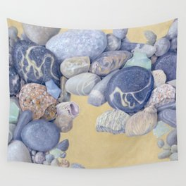 Beach Front I Wall Tapestry