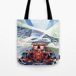 Formula One Series Tote Bag