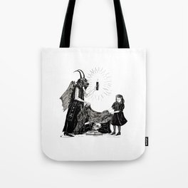 The Darkness And The Light Tote Bag