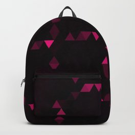 Pink triangulation Backpack